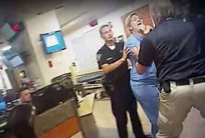 nurse alex wubbles and police