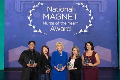 National Magnet Nurse of the Year Award winners
