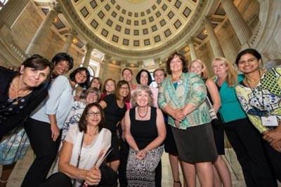 nurses on Capitol Hill